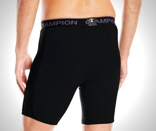 Champion Men's Powerflex Compression Short from back