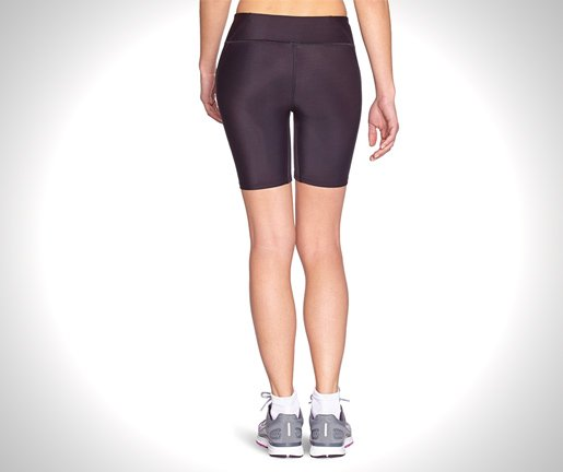 Under Armour Women's HeatGear Authentic Long Shorts