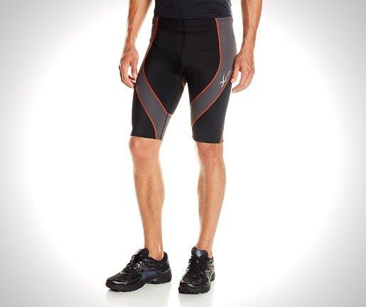 Wear Men's Shorts Black-Grey-Orange