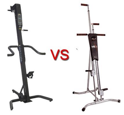 Versaclimber vs Maxi Climber