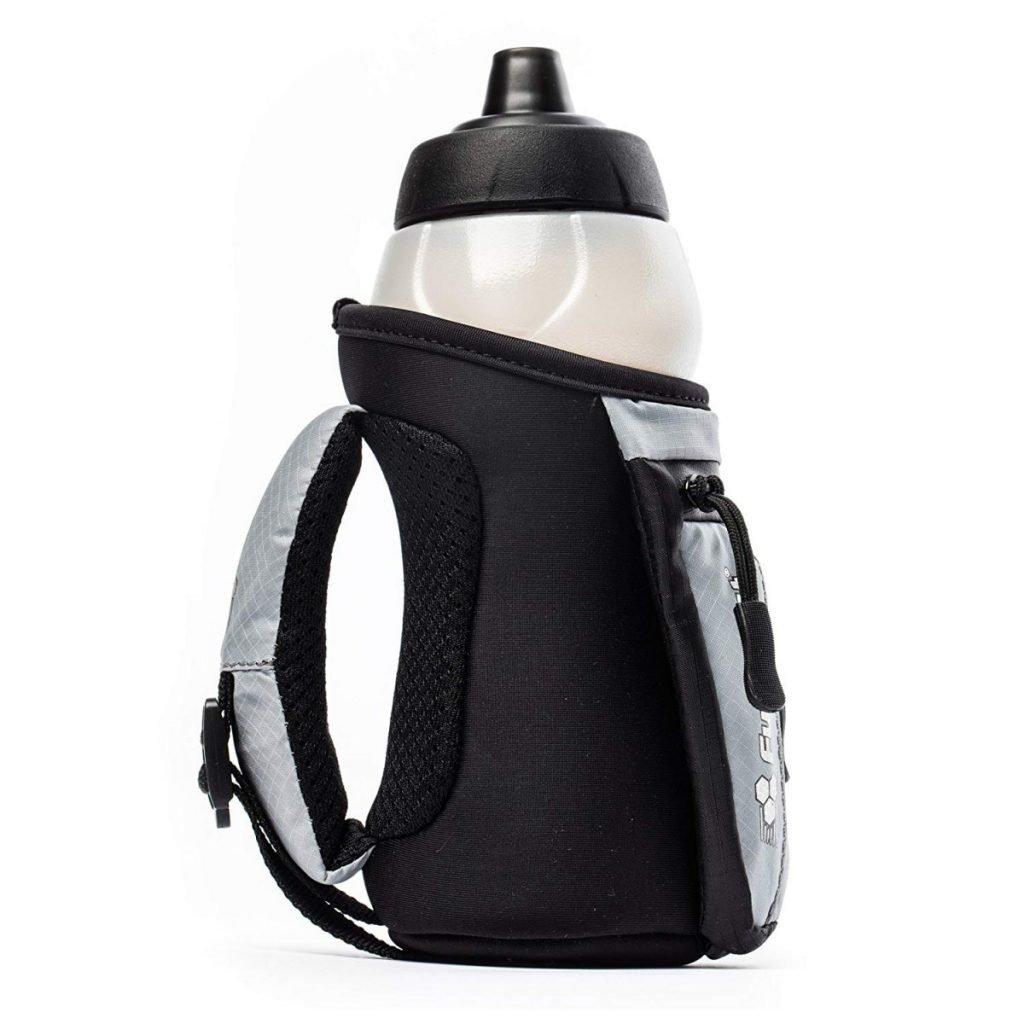 FuelBelt Enduro Fuel Hand-Held Running Water Bottle with Storage Pouch