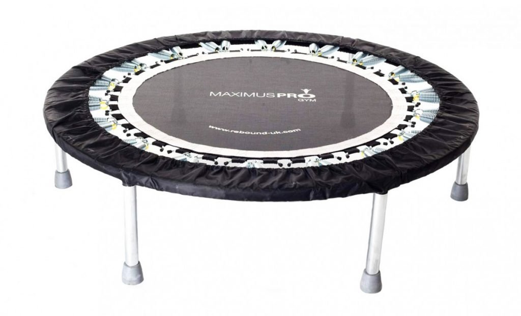 Maximus Pro Gym Rebounder Mini Trampoline with Handle bar