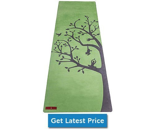 Peace Yoga Microfiber Top Hot Yoga Mat