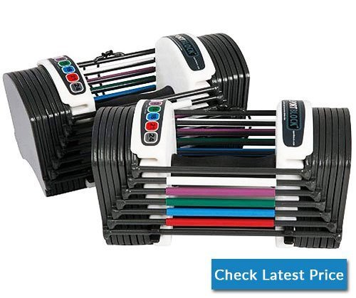 PowerBlock Sport 24 Adjustable Dumbbell, 24 lbs