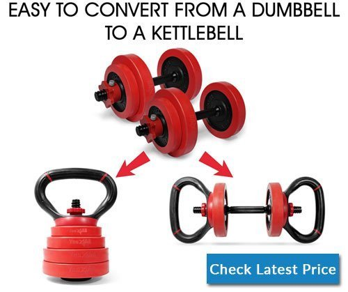 Yes4All Adjustable Dumbbells 40, 50, 52.5, 60, 105 to 200 lbs with Connector Options